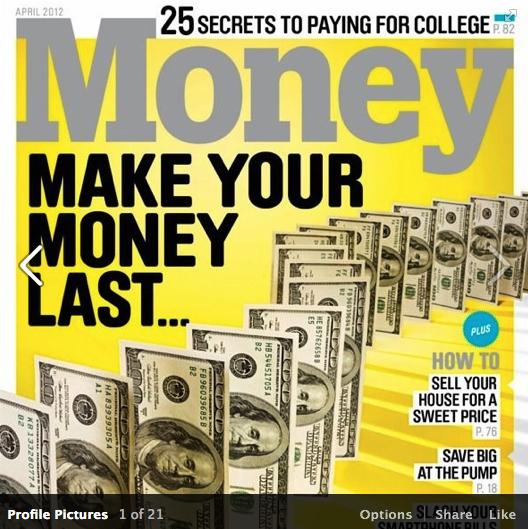 Money April Cover